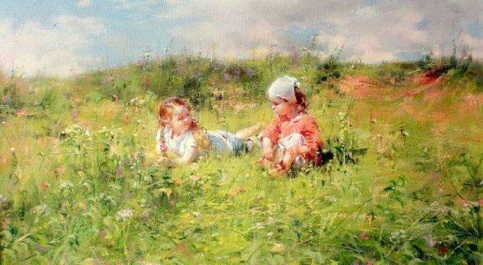 детство Художник Николай Соник