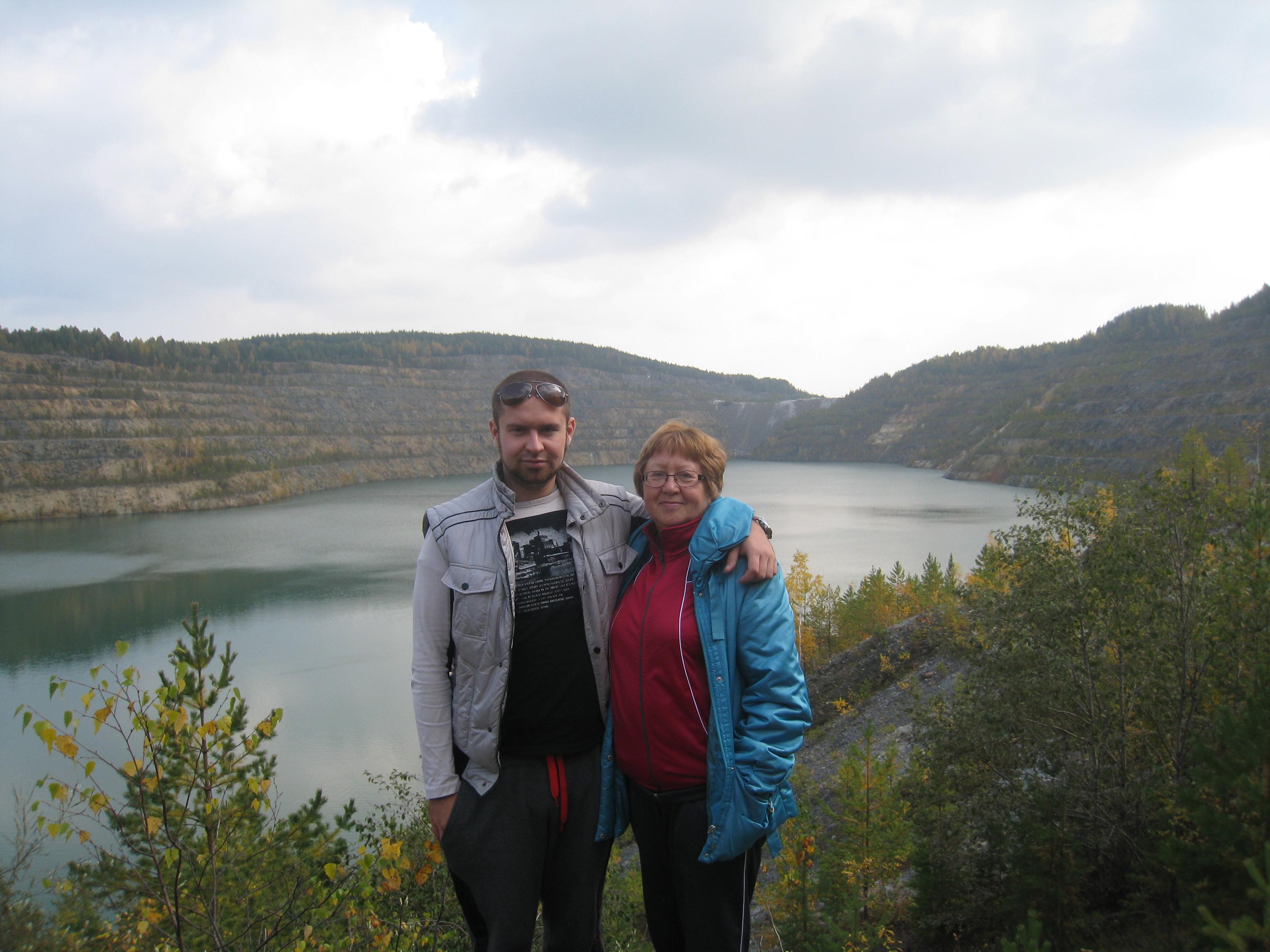 Фотосессия наЧеремшанском карьере