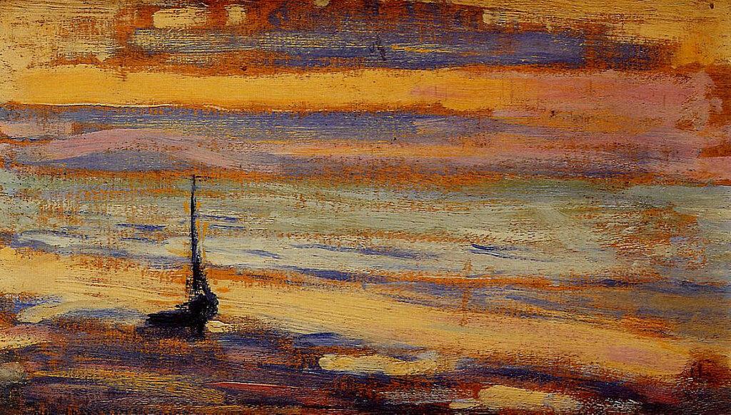 Georges Lemmen - Neyst No.9 - The Beach, 1891.jpeg