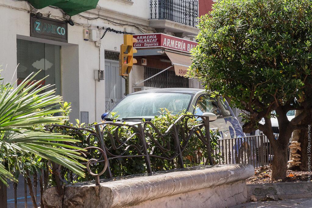 Улица в городе Ибица