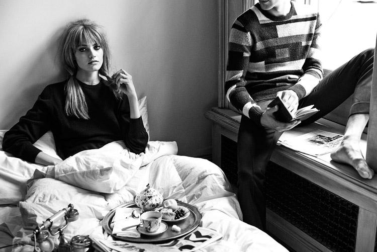 Анна Мария Ягодзинска (Anna Maria Jagodzinska) в журнале Vogue Brazil