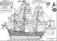 Rosinski A. - Чертежи парусного корабля Ингерманланд 1712 года jpg 5Мб