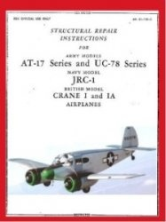 Книга Structural Repair Instructions for Army Models AT-17 Series and UC-78 Series