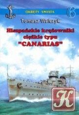 """Книга Hiszpańskie krążowniki ciężkie typu """"Canarias"""" (Okręty  Świata 6)"""