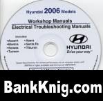 Книга Hyundai workshop manuals 2006