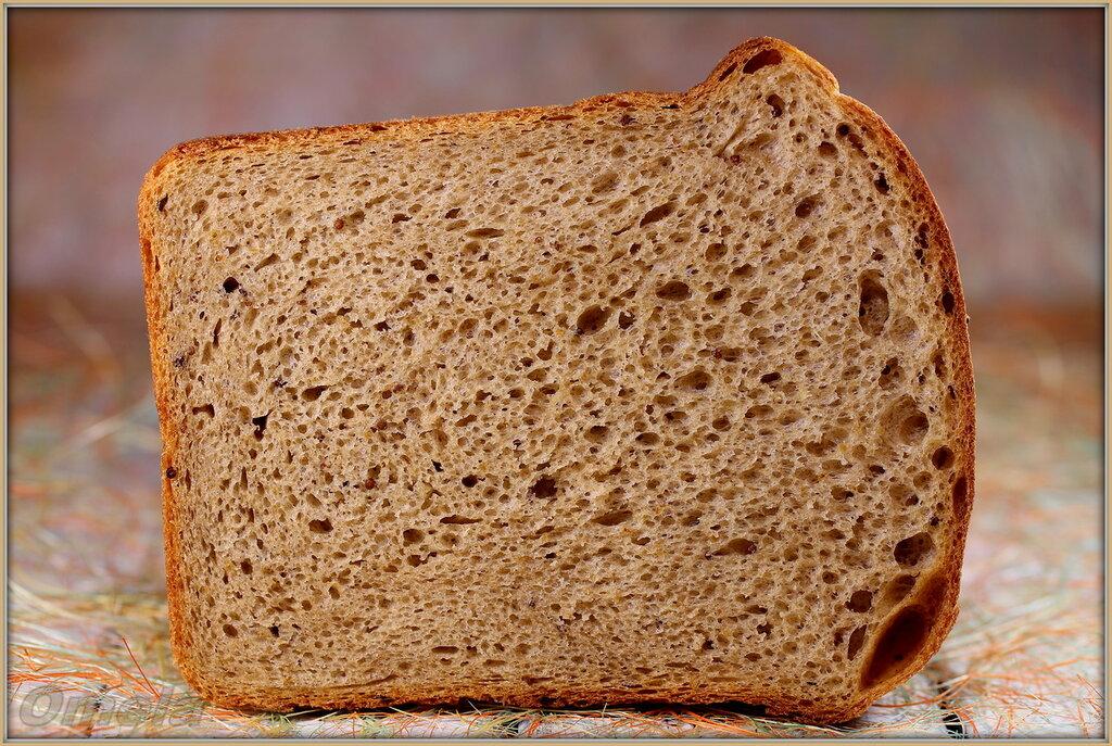Горчичный хлеб на пиве и закваске
