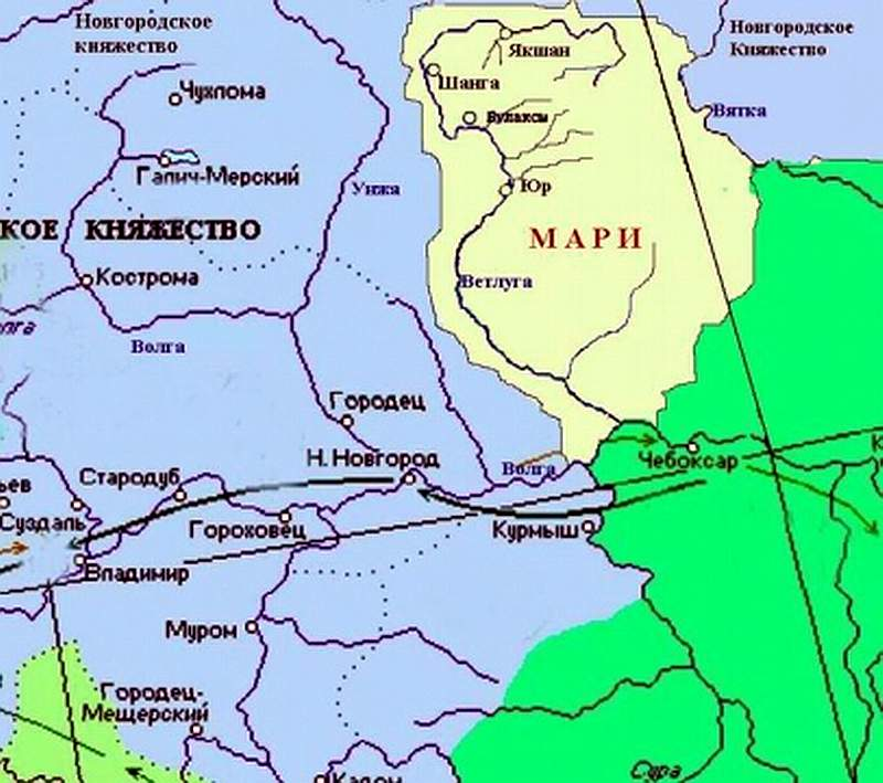 Памятники археологии Нижегородской области