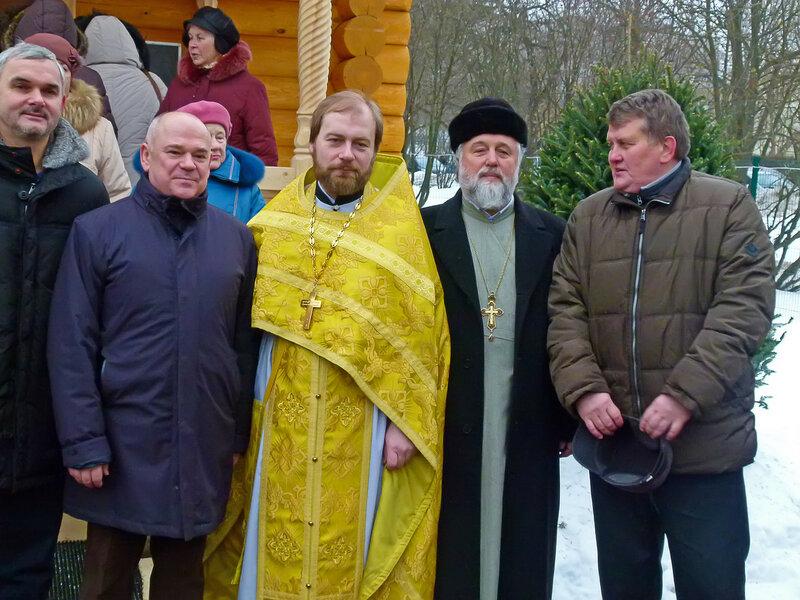 Освящение храма в Солнцево