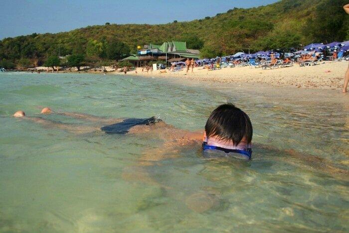 Пляж Тьен Остров Ко Лан