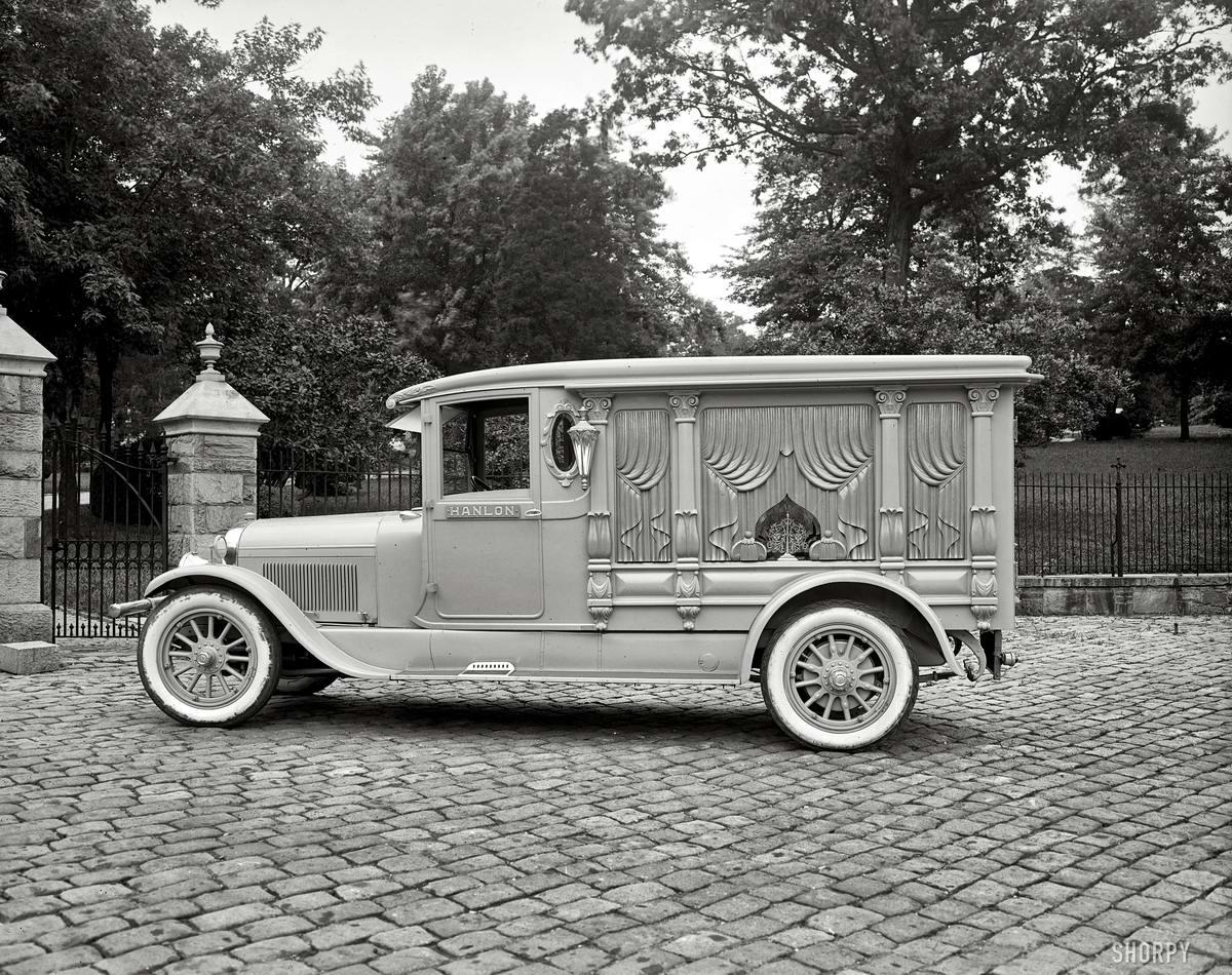 Специализированные транспортные средства начала 20-го века на снимках американских фотографов (45)
