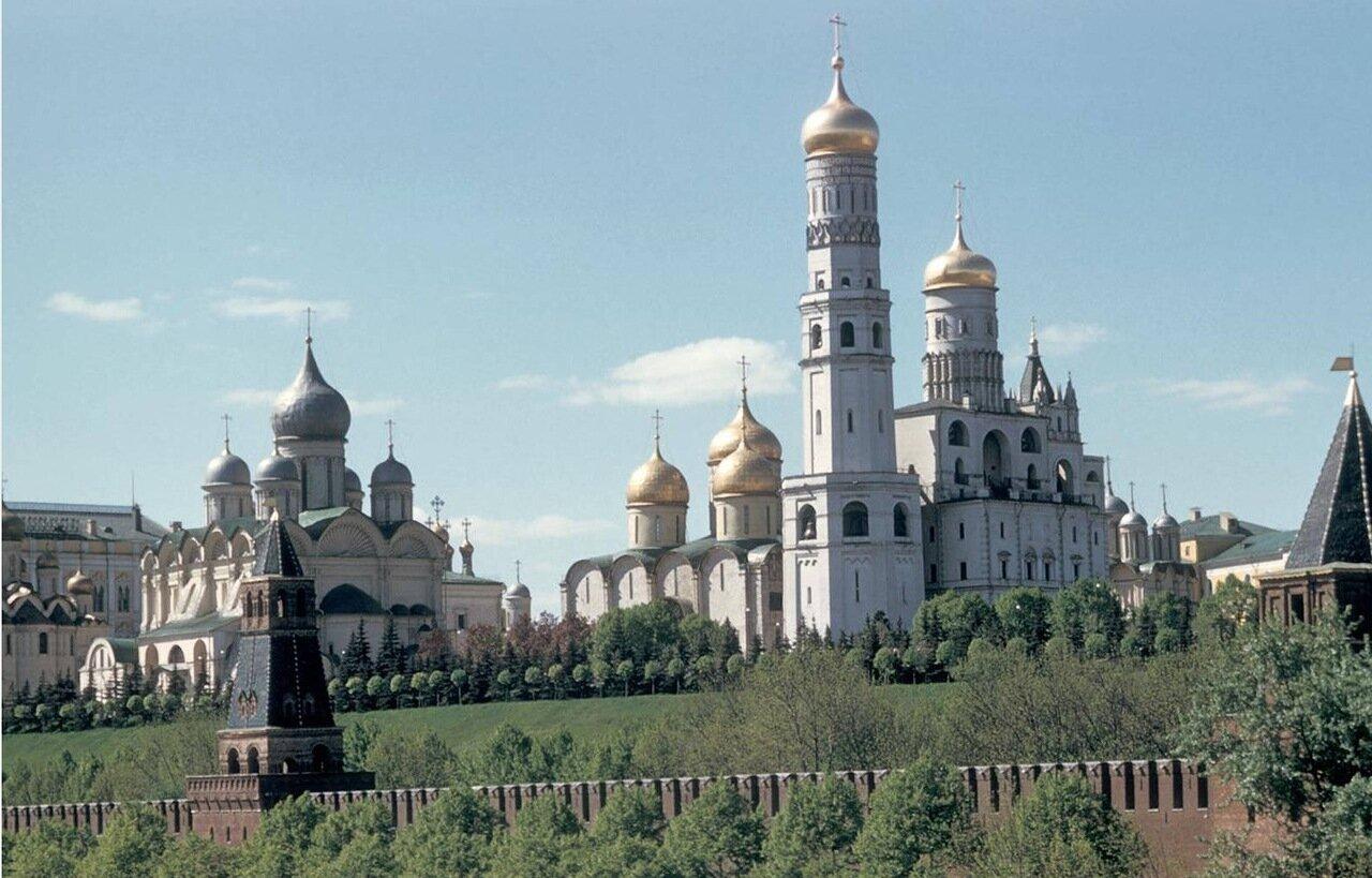 Кремль, Успенский Собор и Колокольня Ивана Великого