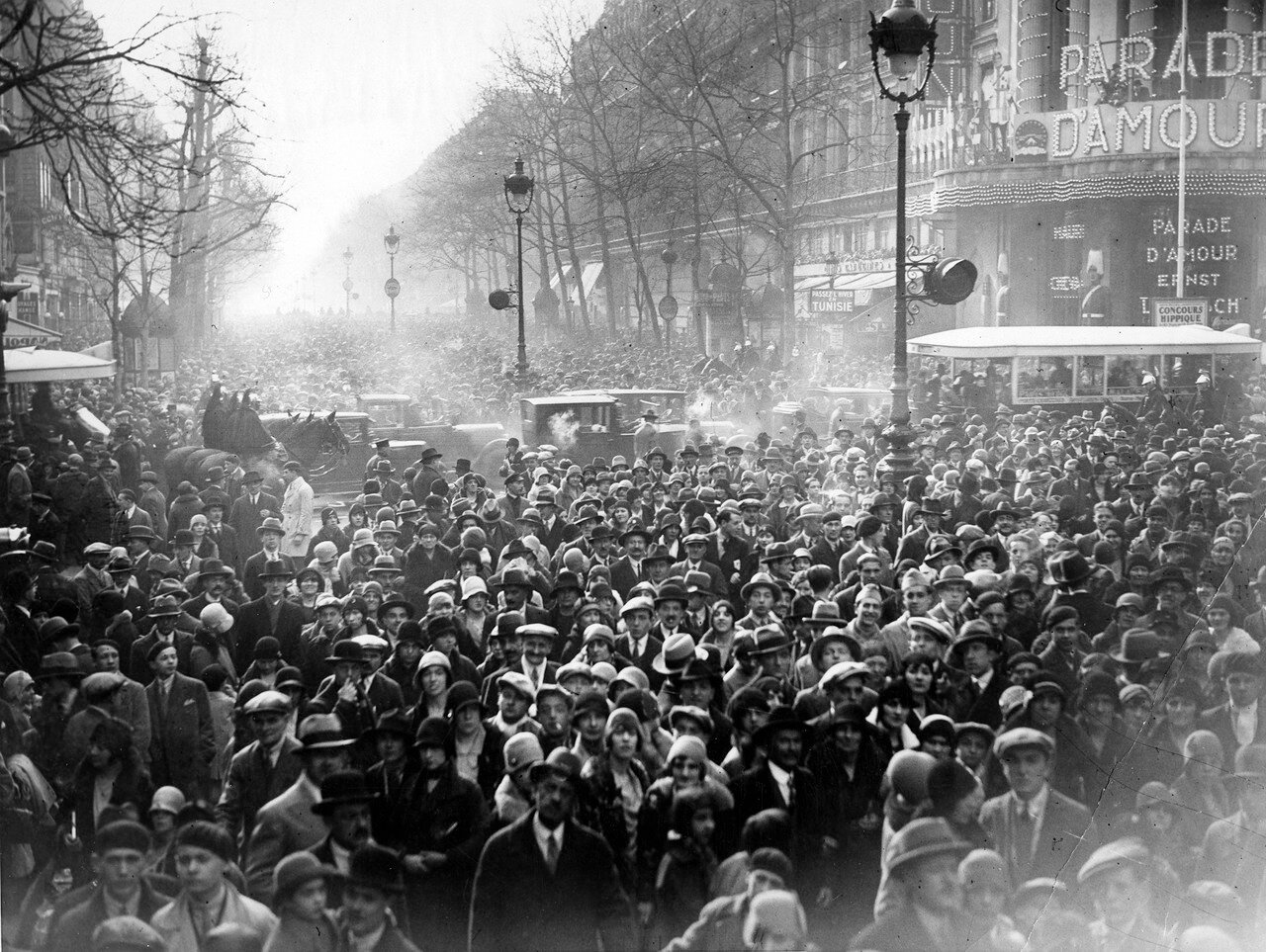 1929. Бульвар Капуцинок