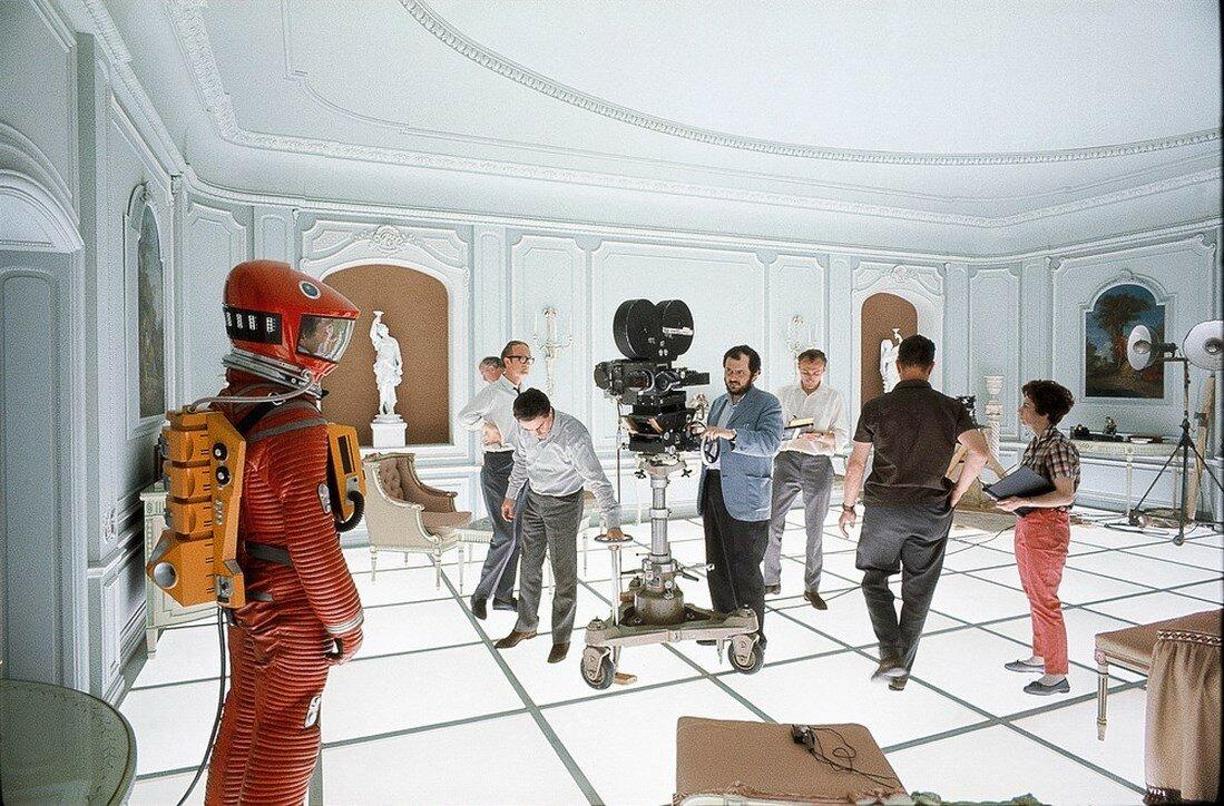 1967. На съемках фильма «Космическая одиссея 2001 года»
