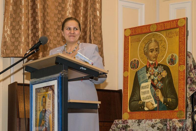 Татиана Боровикова. Председателя сообщества многодетных семей