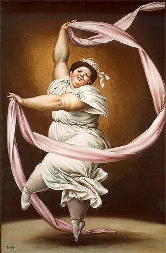 Танец  счастья. Леандро Веласко (1933-).