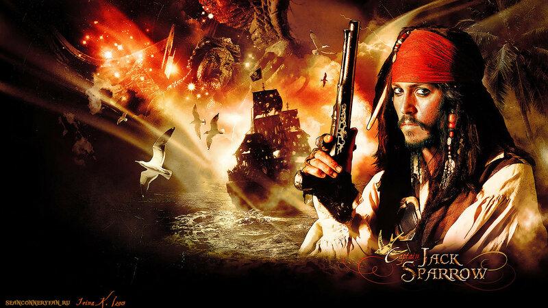 Обои: «Пираты Карибского моря. Проклятие Черной Жемчужины»