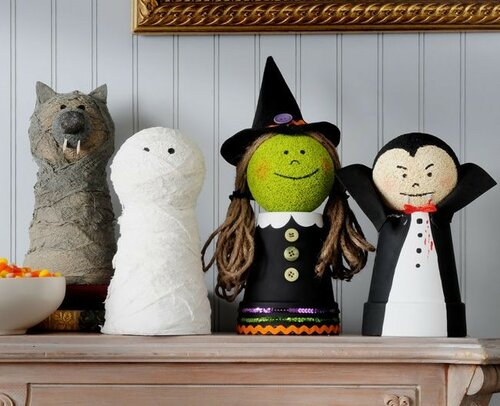Оформление на Хэллоуин