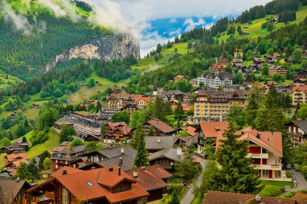 15. Венген, Швейцария (© hawamer)