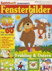 Журнал Bastelwelt Sonderheft- Fensterbilder Ostern und Fruhling w700