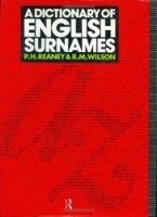 Аудиокнига A Dictionary of English Surnames pdf 13,5Мб
