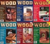 Книга Wood Magazine №15-20 1987 (полный архив за 1987 год).