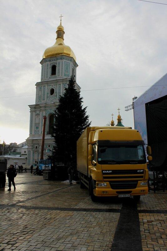 Главная ёлка Киева 2015