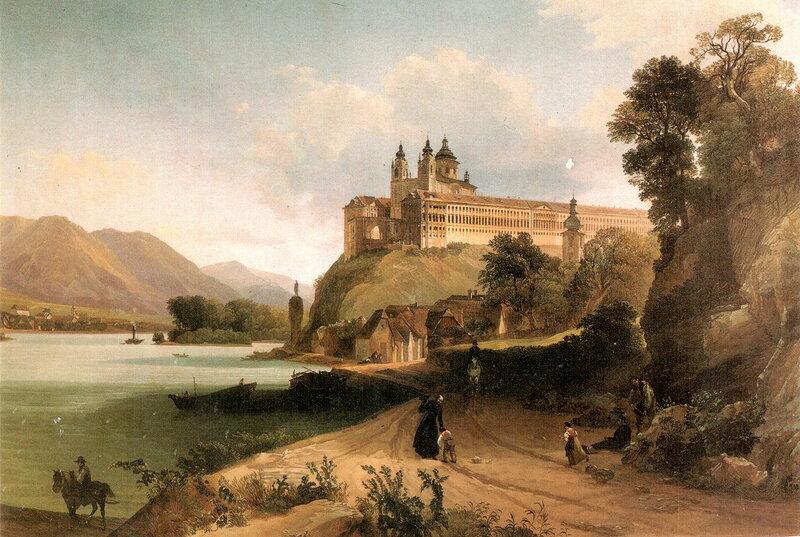 Йозеф Герстмейер. Мельк в 1845 году