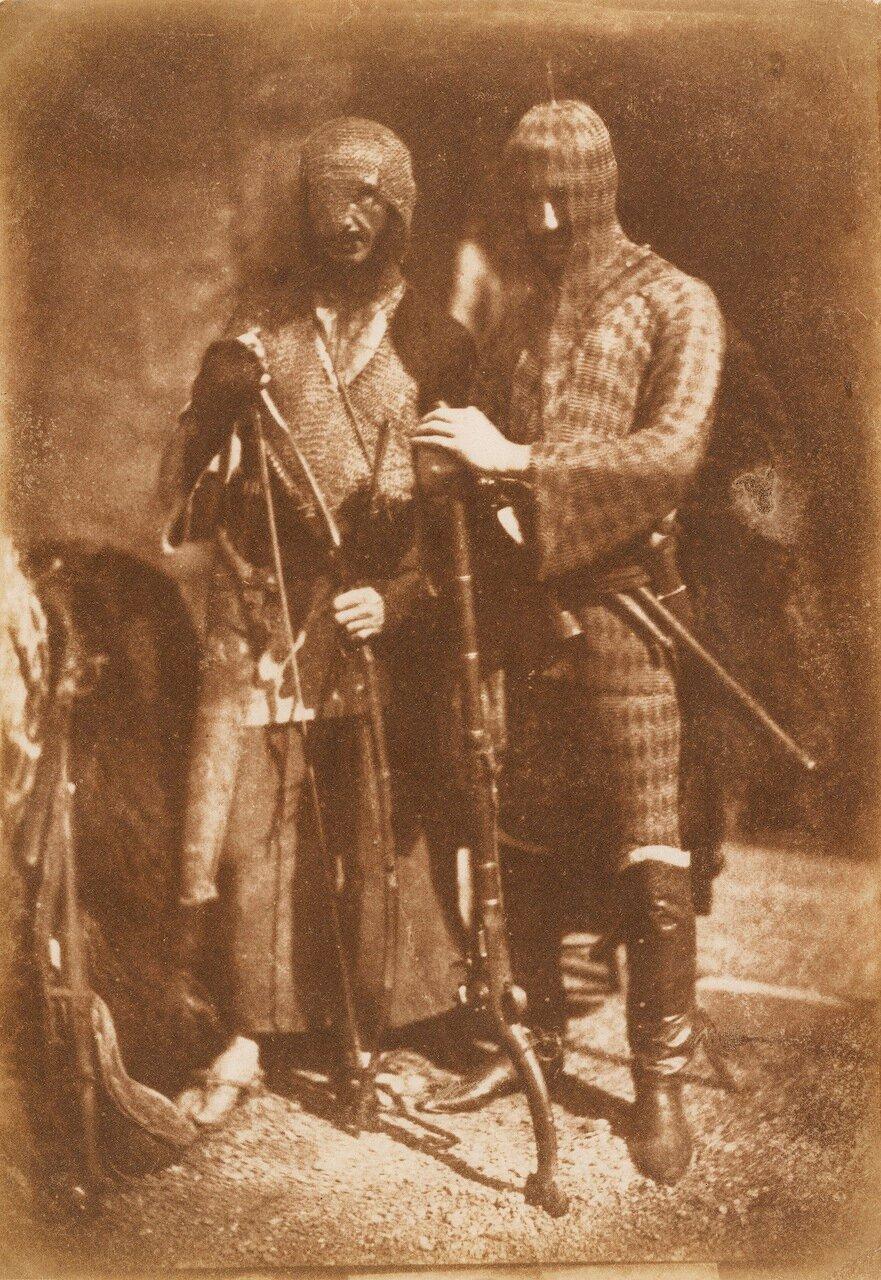 1843. Ученые господа Лейн и    Реддинг в афганских костюмах