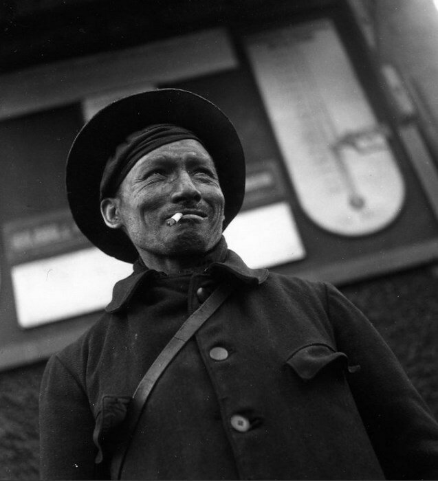 1945. Шахтер