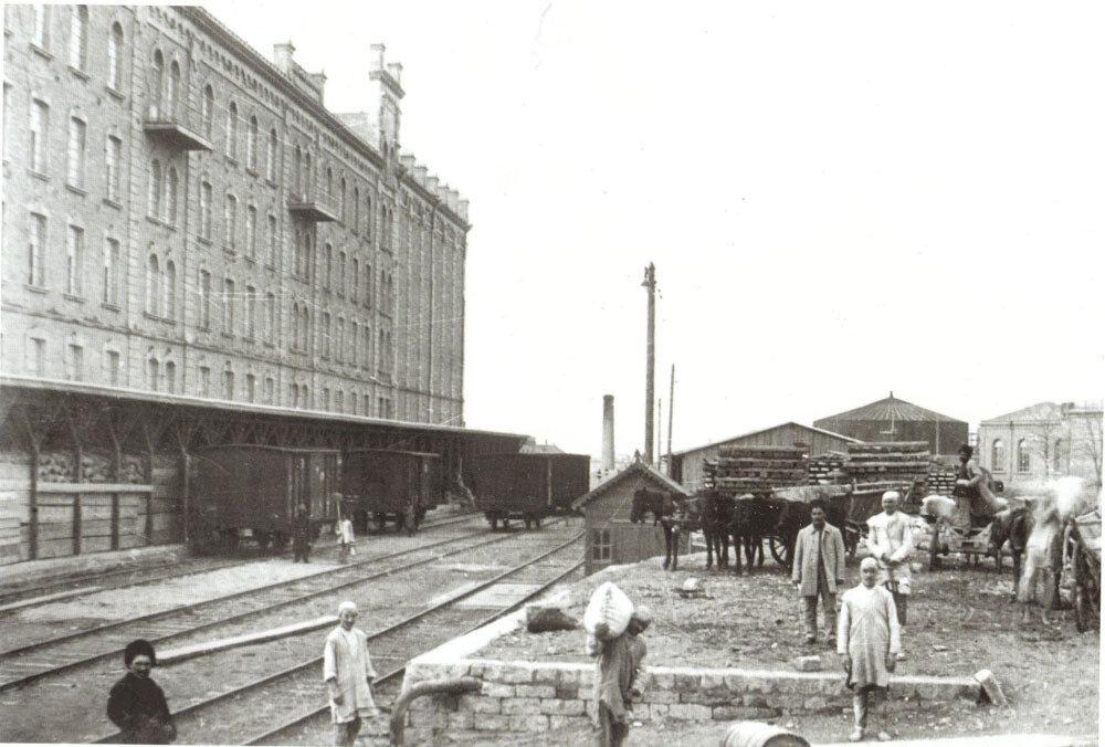 Мельница Тагиева Г. З. А на Зыхе, при ткацкой фабрике
