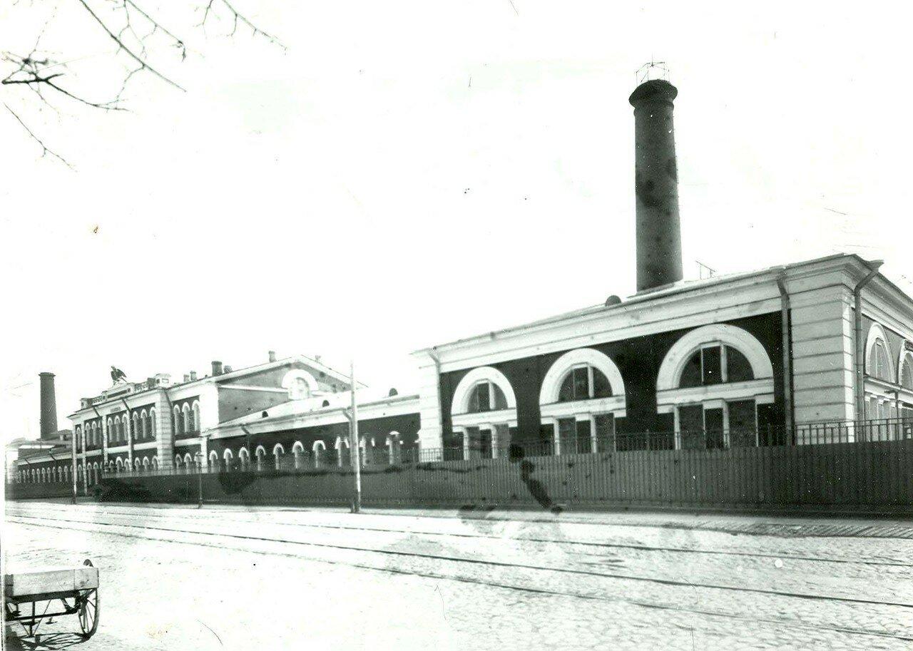 13. Часть фасада здания Арсенала. 21 апреля 1914