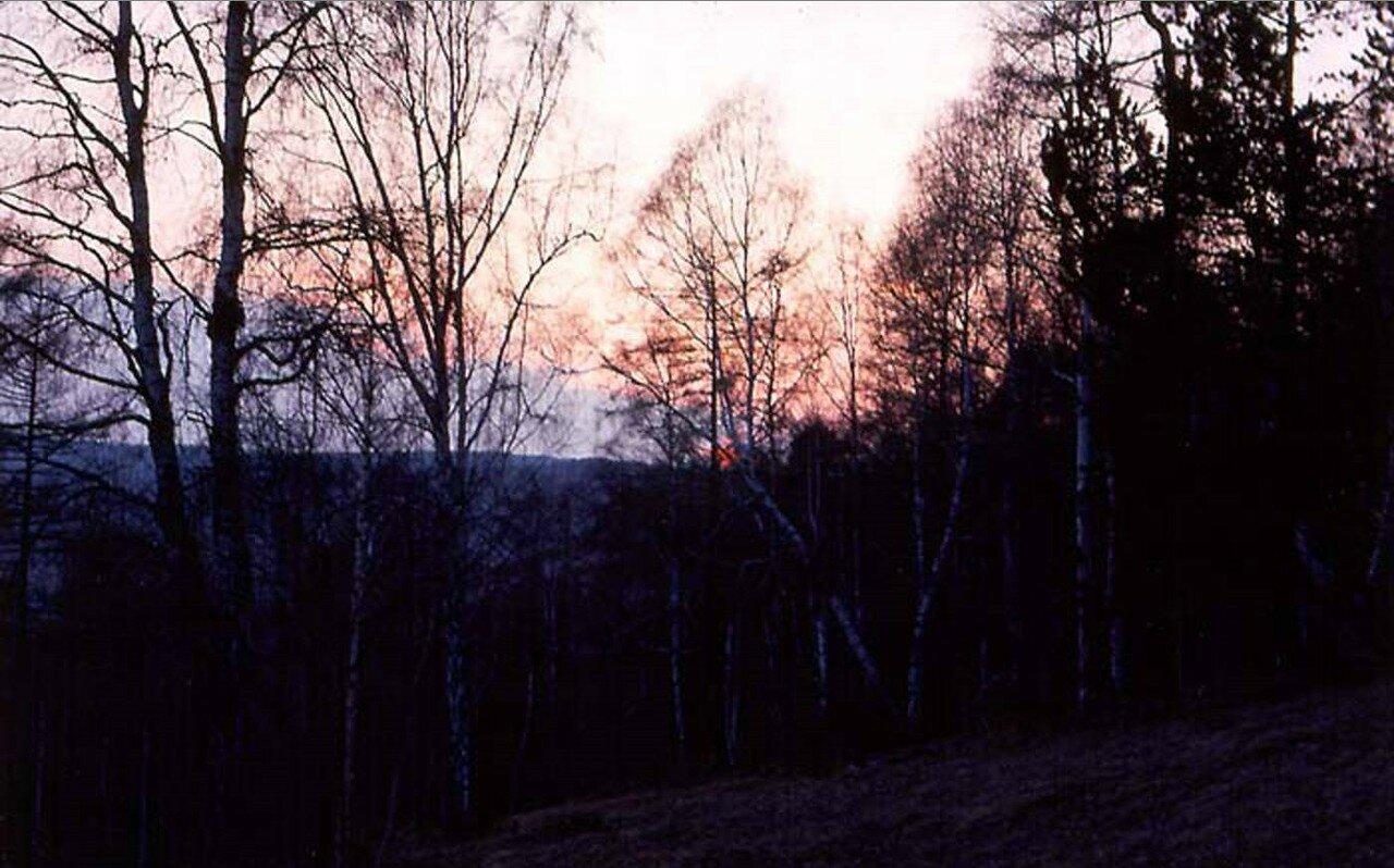 Закат в Иркутской области