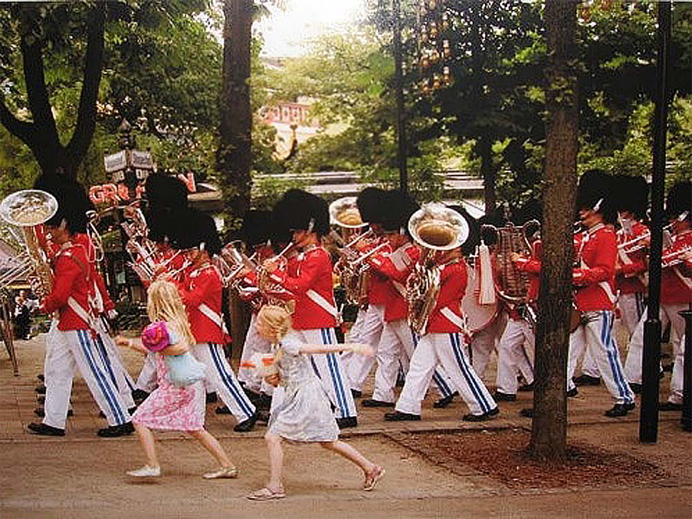 Tivoli Gardens Marching . Harry Benson