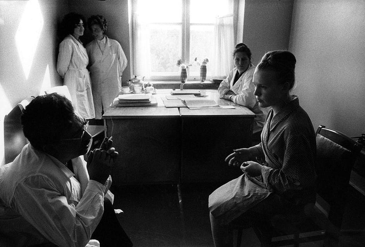 Психиатрическая больница. 1966, Москва, СССР