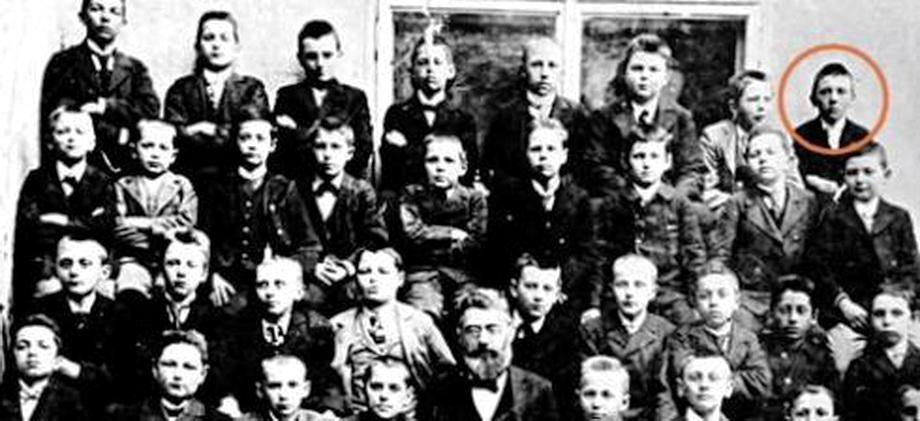 Гитлер, 1904 год