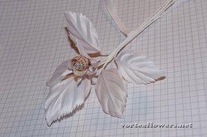 Мастер-класс. Роза  с газетным принтом «Lady Print» от Vortex  0_fc13d_b0b4c5ca_M