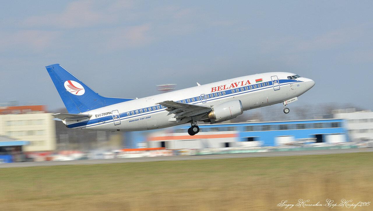 EW-290PA Boeing 737-5Q8 Belavia
