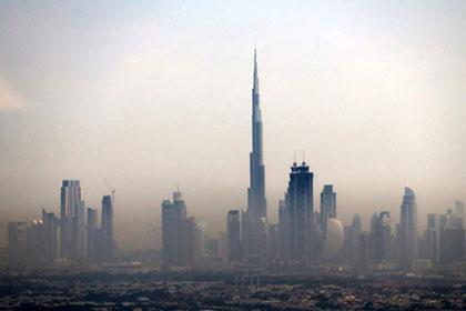 На самом высоком в мире небоскребе будут транслировать новогодний салют