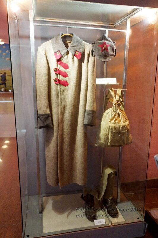Обмундирование красноармейца, Музей истории ВДВ, Рязань