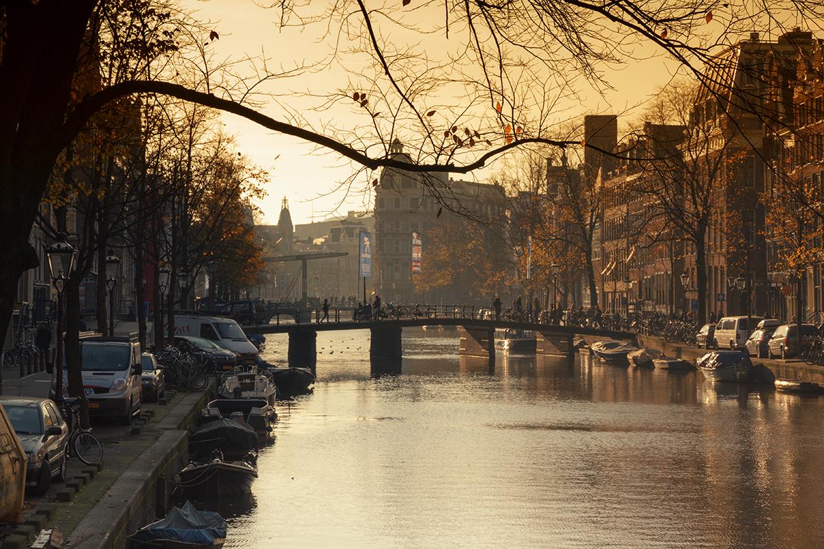 Амстердам в ноябре фото