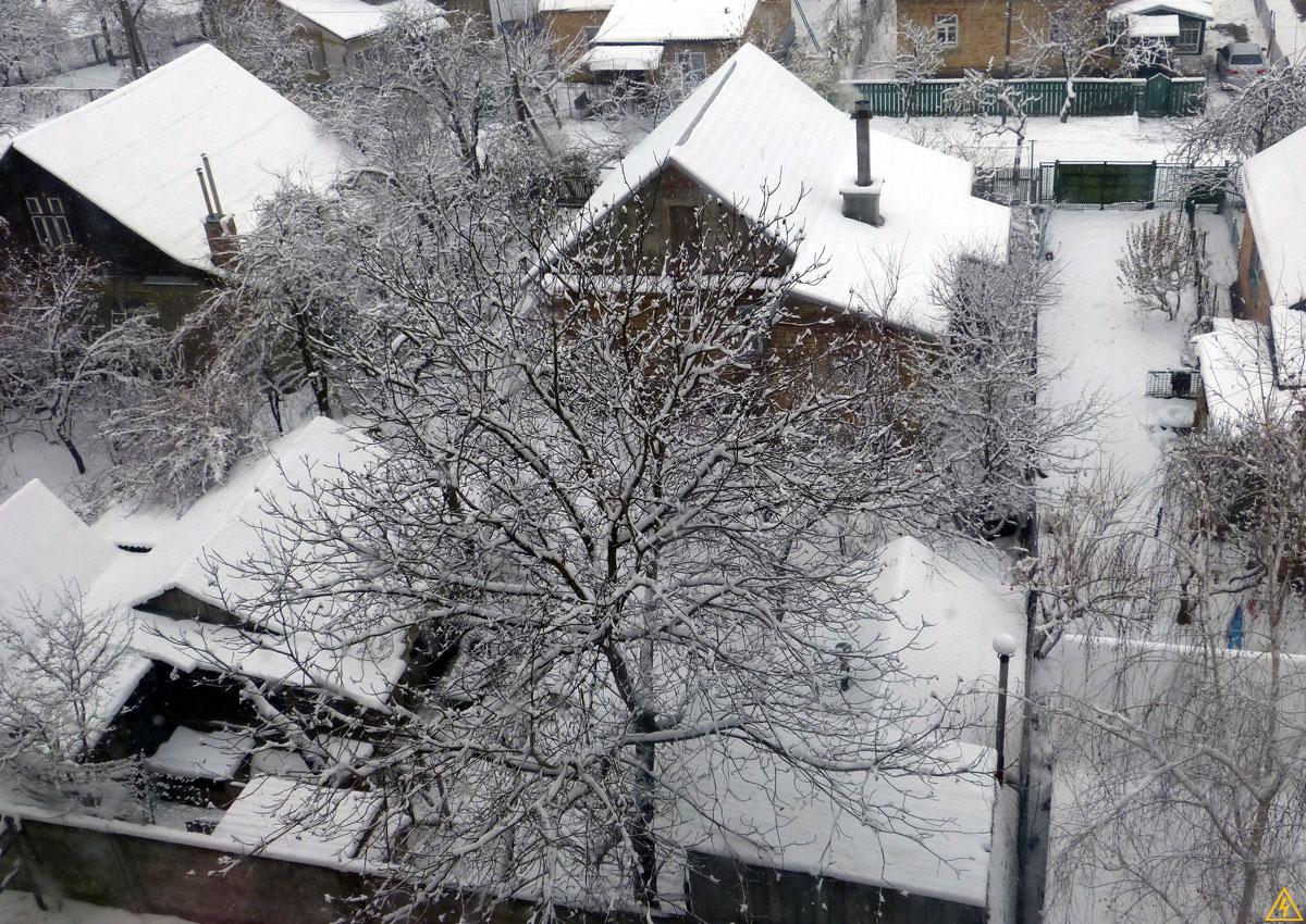 Зима в Боярке 2014/2015