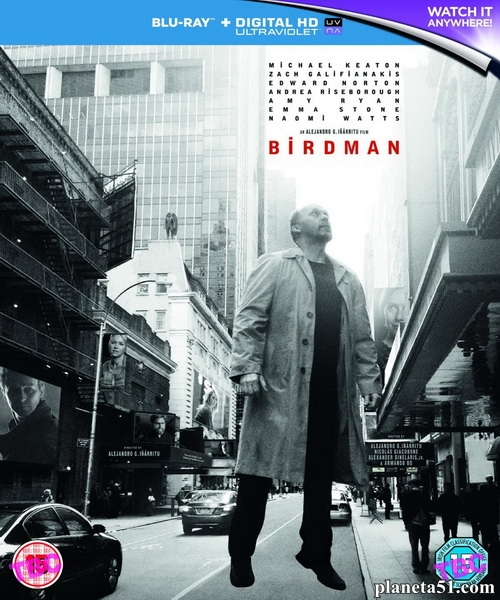 Бёрдмэн / Birdman (2014/BD-Remux/BDRip/HDRip)
