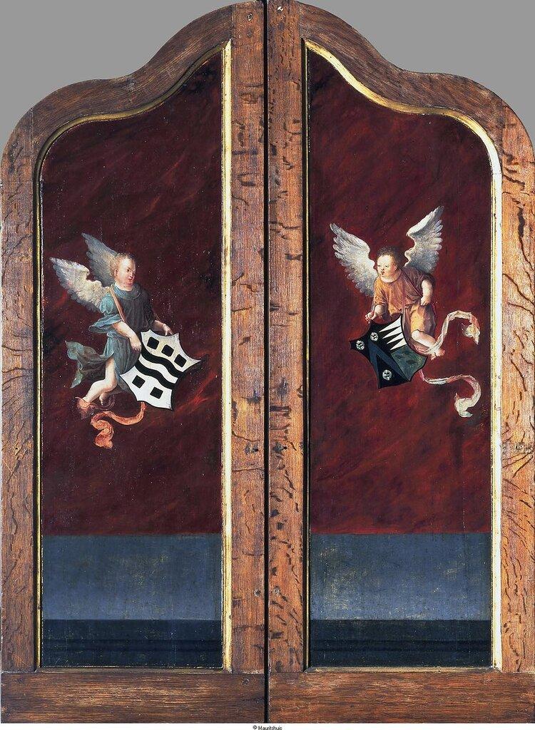 Meester van de Salomotriptiek - История Соломона (триптих закрыт), ок. 1521-25, 107,5 cm x 77 cm, Дерево, масло.jpg