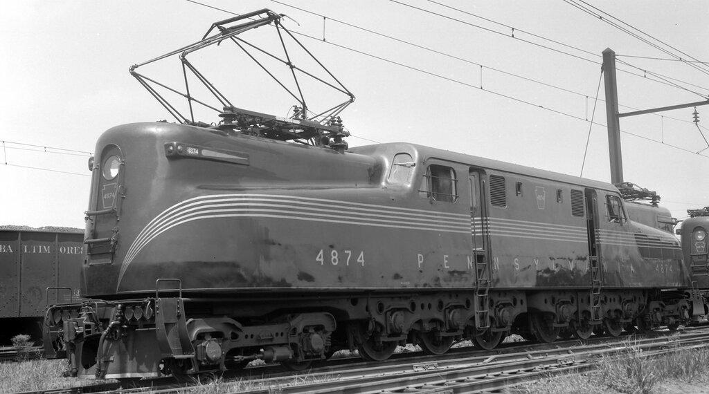 Pennsylvania locomotive, engine number 4874, engine type PRR 2-C+C-2 (GG1), Washington, D.C., August 3, 1939