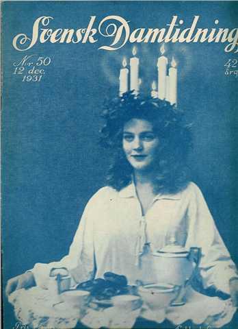Svensk Damtidning, 1931.