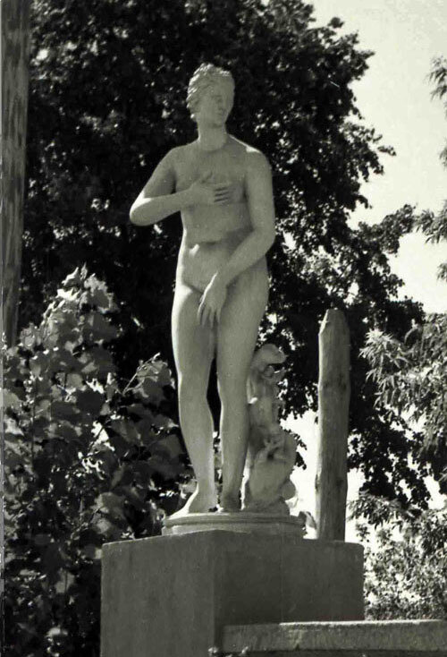 Венера Рассказовская. Фото В.Г. Шпильчина. 1950 г.