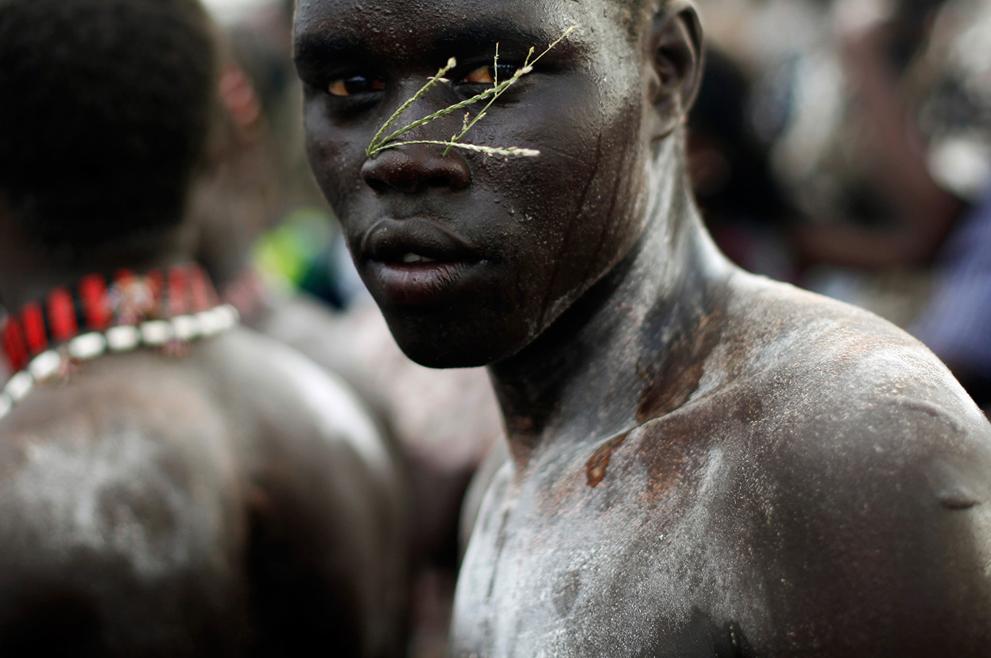 29. Житель Южного Судана на праздновании дня независимости. (Reuters/Goran Tomasevic)