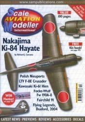 Журнал Scale Aviation Modeller International №10 2004
