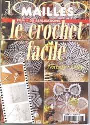 Журнал 1000 Mailles Nomero special hors-serie Le crochet facile Film+30 Realisations