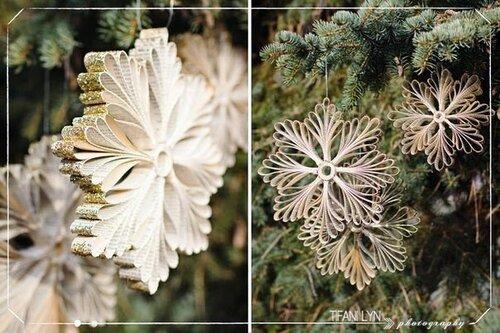 Снежинки новогодние